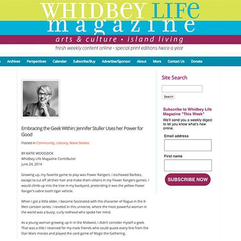 Media profile of Jennifer K. Stuller
