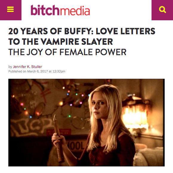 Web articles by Jennifer K. Stuller